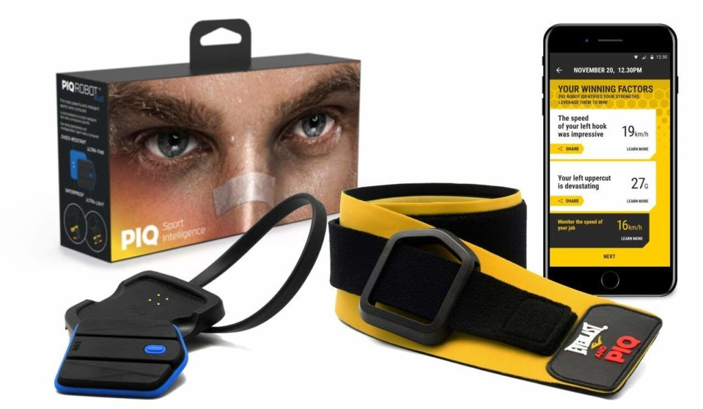 PIQ Everlast and Wearable Boxing Sport and Fitness Tracker