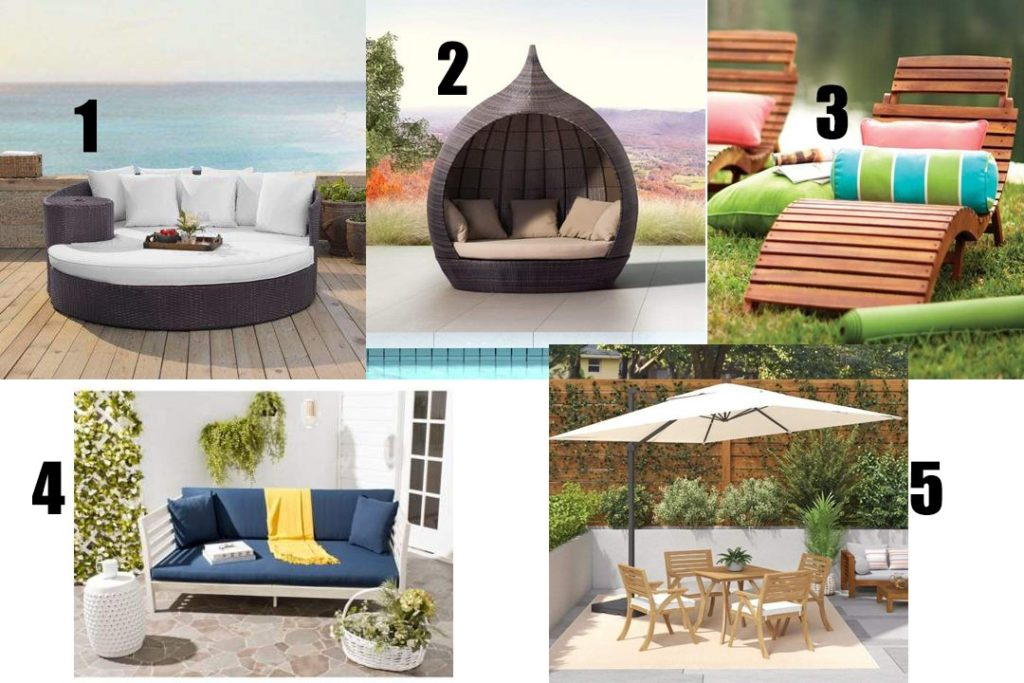 For the Backyard or Pool Area