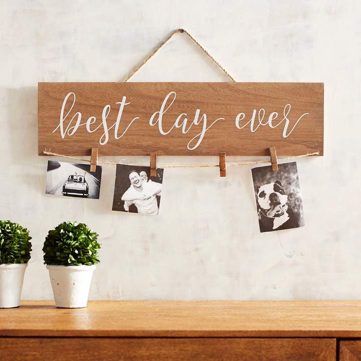 Pier 1 Imports Best Day Ever Clip Wall Frame