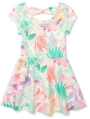 The Children's Place Toddler Girls' Floral Bow Back Dress