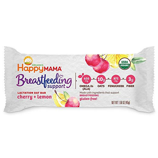 Happy Mama Breastfeeding Support Lactation Oat Bars