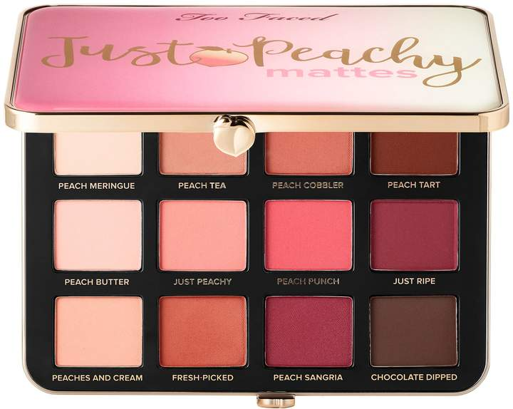 Too Faced Just Peachy Velvet Matte Eyeshadow Palette