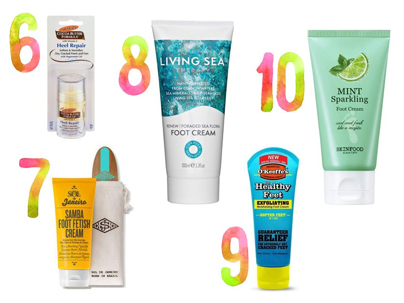 Heal Your Heels with the Best Foot Creams for Dry Cracked Feet