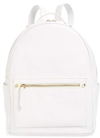 Mali + Lili Madison Vegan Leather Backpack