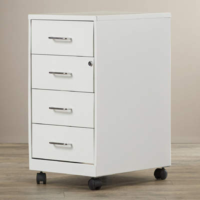 Bottorff 4-Drawer Steel Mobile File Cabinet