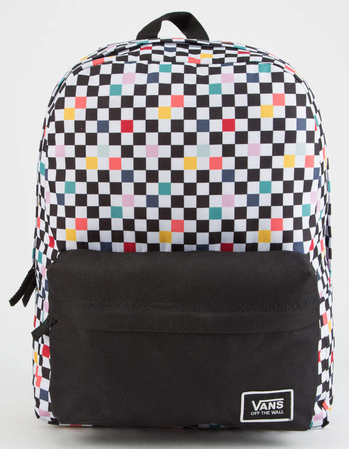 Vans Party Checker Realm Classic Backpack