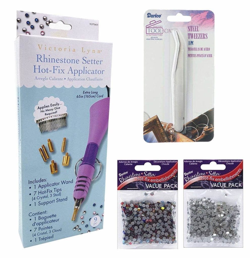 Rhinestone Hot-Fix Applicator Wand Kit