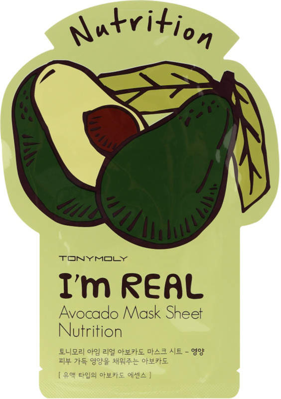 Tony Moly I'm Real Avocado Mask Sheet
