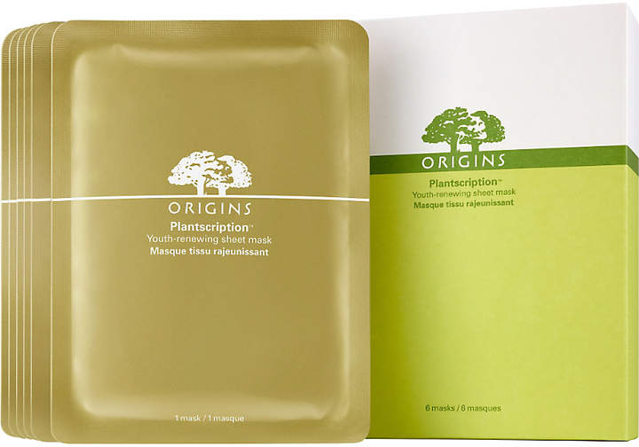 Origins Plantscription Youth-Renewing Sheet Mask