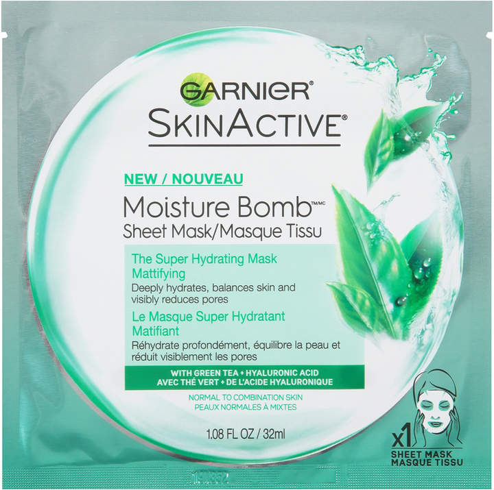 Garnier SkinActive Moisture Bomb The Super Hydrating Sheet Mask Mattifying
