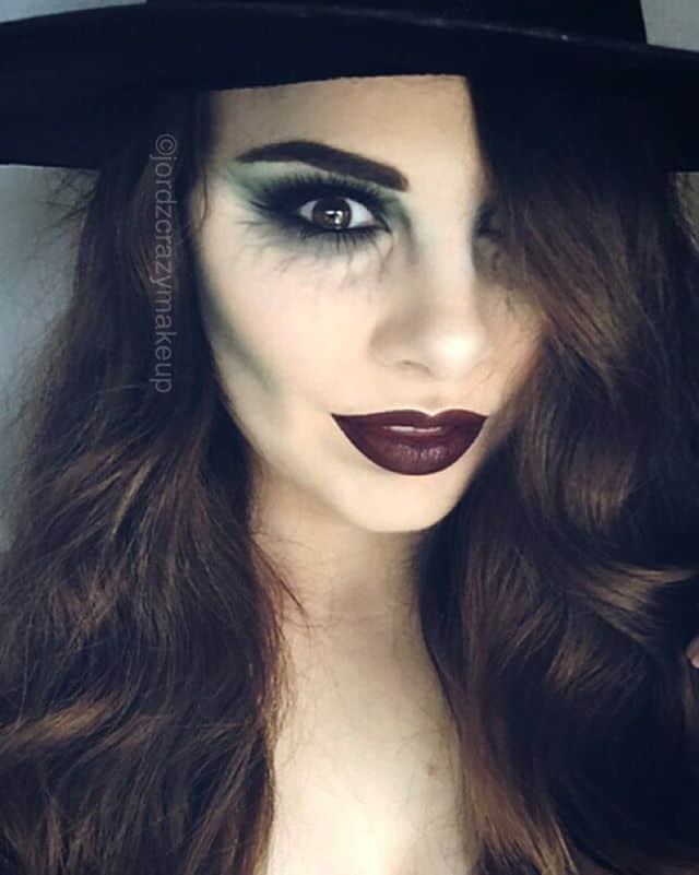 Witch Halloween Makeup Easy.Easy Makeup Tutorials You Can Try This Halloween Teelie Turner