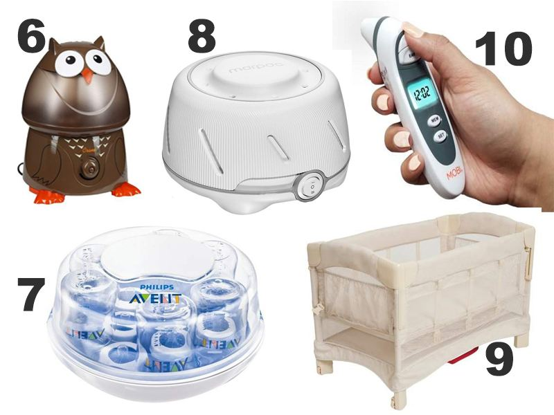 Top 10 Baby Gadgets that Make it Easier for New Moms to Handle Their Newborns