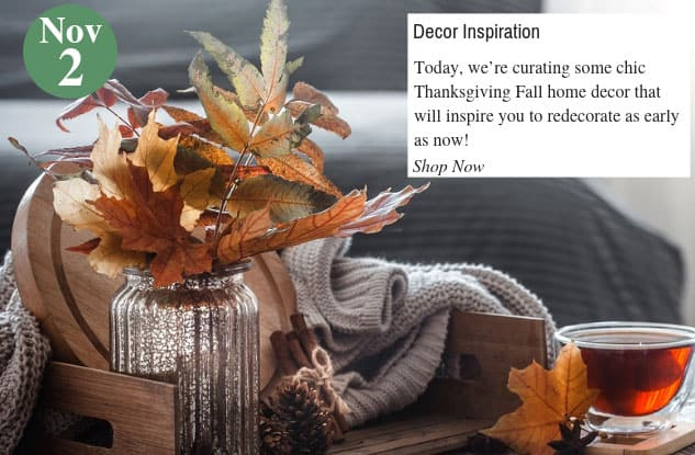 Thanksgiving Fall Home Decor Inspiration