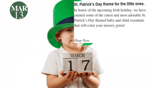 St. Patrick's Day Themed Baby and Child Essentials