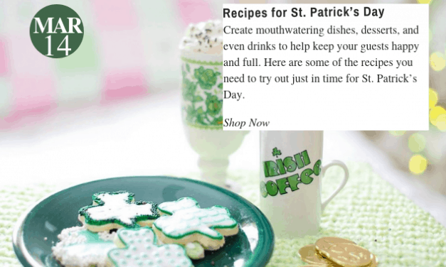 St. Patrick's Day Recipes You Need to Try Out Right Now