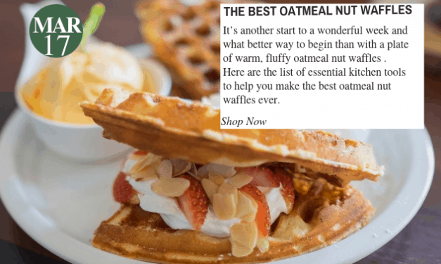 Oatmeal Nut Waffle Day: All You Need To Make The Best Oatmeal Nut Waffles