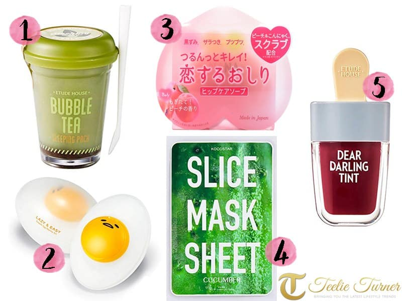 Cute Beauty And Skincare Products Inspired By Food Teelie Turner