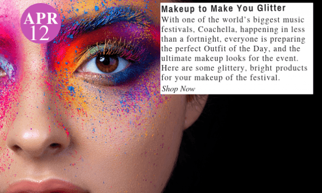 Festive Faces: Shop The Makeup to Make You Glitter At the Music Festivals