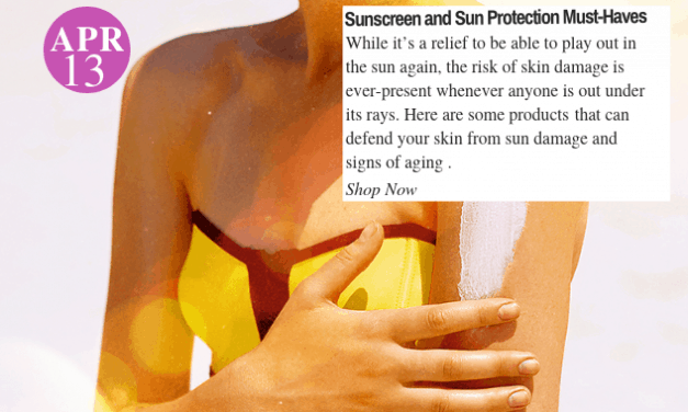 Sun Protect: Sunscreen and Sun Protection Must-Haves