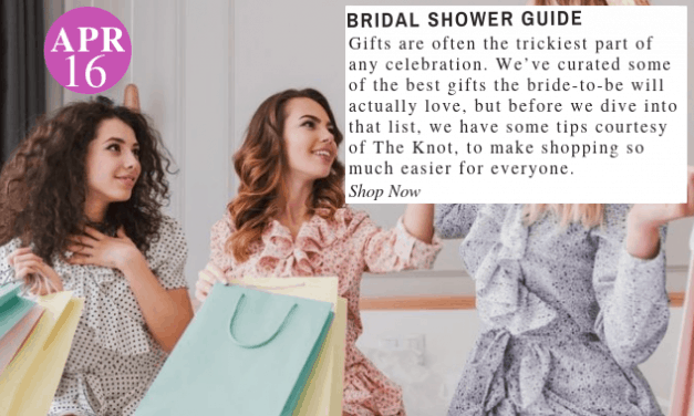 Bridal Shower Guide: 10 Gifts The Bride-To-Be Will Actual Love