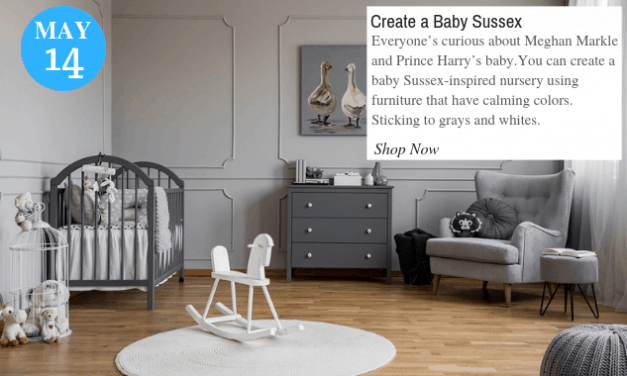 Inspired Nursery Just Like Meghan Markle and Prince Harry