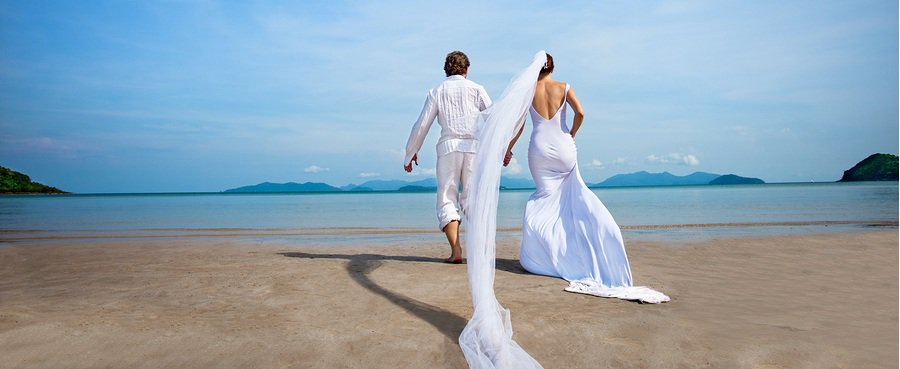Dreamy Beach Wedding Bridal Dresses