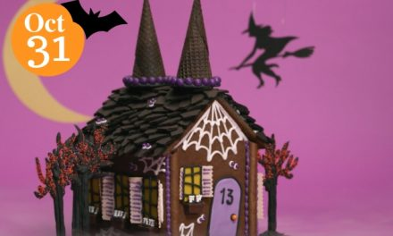 This Haunted Gingerbread House Is the Spooky Centerpiece Your Halloween Party Needs