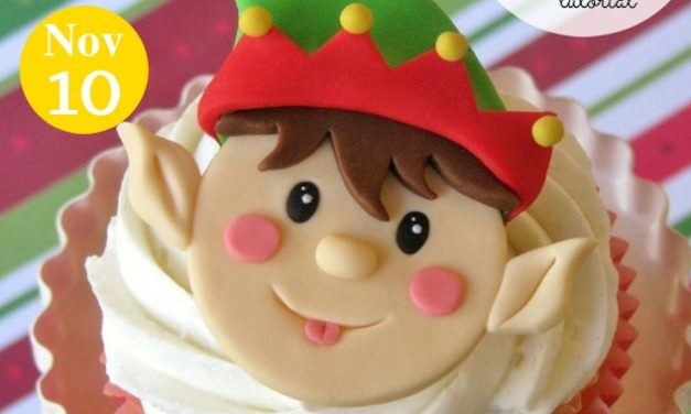 Create Some Tiny Magic With This Christmas Elf Fondant Topper