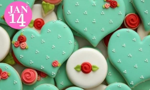Decorate Adorable Heart – Shaped Sugar Cookies to Share With Your Valentine