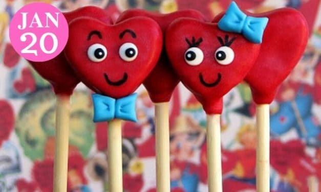 Make Valentine Cake Pops for the One You Heart Most