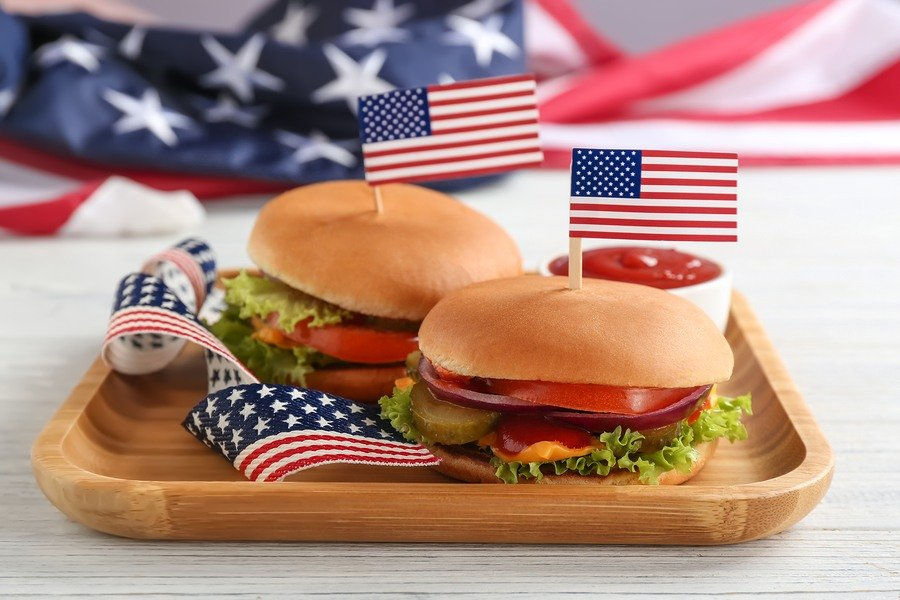 Fourth of July, Fourth of July tableware