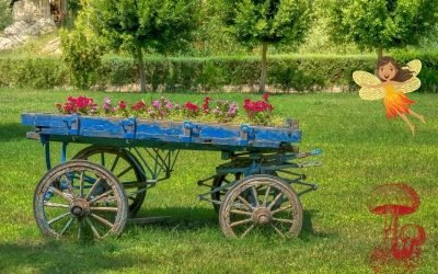 Magical Fairy Carts for Your Garden